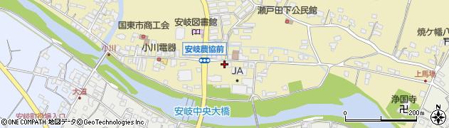 大分県国東市安岐町瀬戸田657周辺の地図