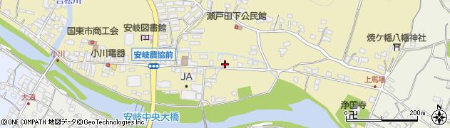 大分県国東市安岐町瀬戸田627周辺の地図
