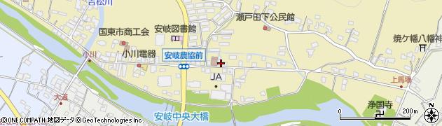 大分県国東市安岐町瀬戸田632周辺の地図