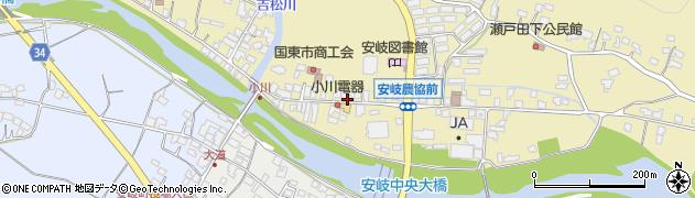 大分県国東市安岐町瀬戸田734周辺の地図