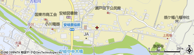 大分県国東市安岐町瀬戸田630周辺の地図
