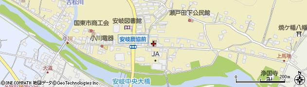 大分県国東市安岐町瀬戸田633周辺の地図