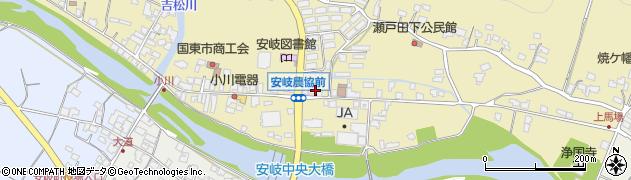 大分県国東市安岐町瀬戸田652周辺の地図