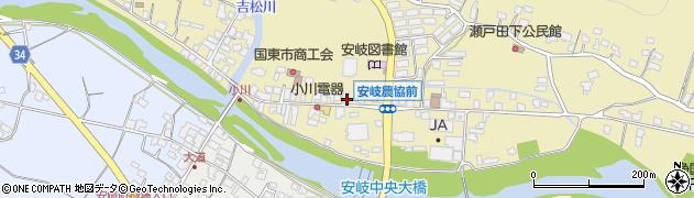 大分県国東市安岐町瀬戸田663周辺の地図