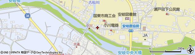 大分県国東市安岐町瀬戸田711周辺の地図