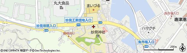 佐賀県唐津市藤崎通周辺の地図
