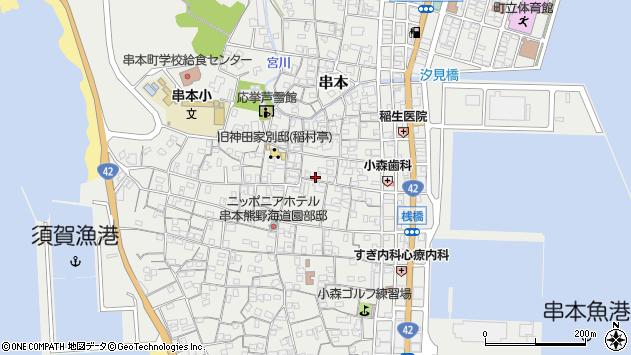 〒649-3503 和歌山県東牟婁郡串本町串本の地図