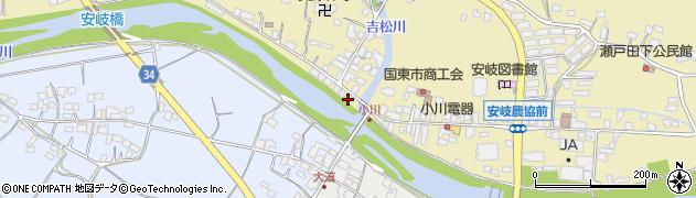 大分県国東市安岐町瀬戸田808周辺の地図
