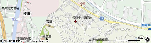 佐賀県唐津市八幡町周辺の地図