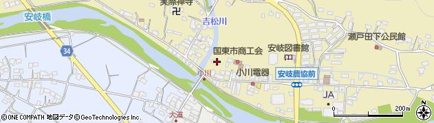 大分県国東市安岐町瀬戸田713周辺の地図