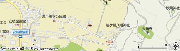 大分県国東市安岐町瀬戸田417周辺の地図