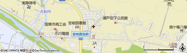 大分県国東市安岐町瀬戸田730周辺の地図