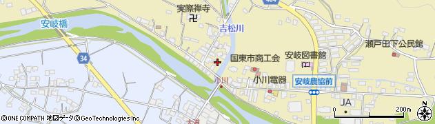 大分県国東市安岐町瀬戸田807周辺の地図