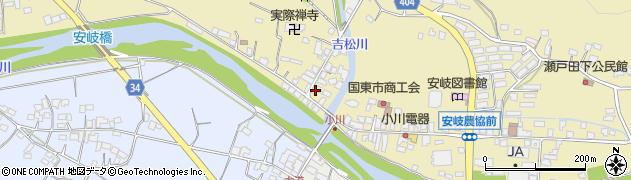 大分県国東市安岐町瀬戸田815周辺の地図