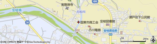 大分県国東市安岐町瀬戸田805周辺の地図