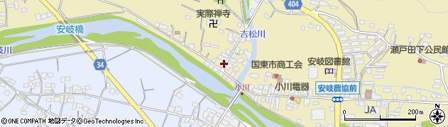 大分県国東市安岐町瀬戸田826周辺の地図