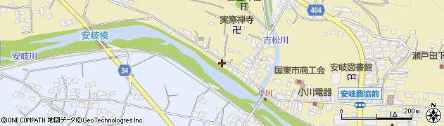大分県国東市安岐町瀬戸田831周辺の地図