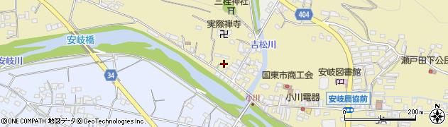 大分県国東市安岐町瀬戸田832周辺の地図