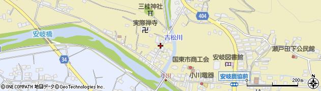 大分県国東市安岐町瀬戸田817周辺の地図