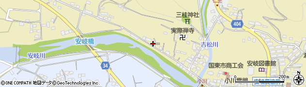 大分県国東市安岐町瀬戸田859周辺の地図