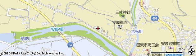 大分県国東市安岐町瀬戸田861周辺の地図
