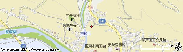 大分県国東市安岐町瀬戸田797周辺の地図