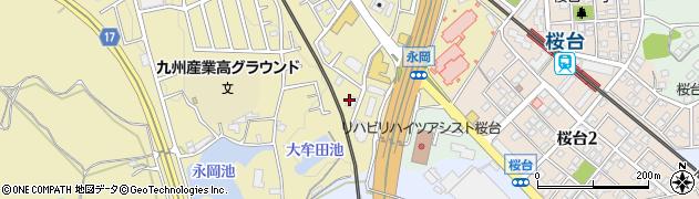 天拝周辺の地図