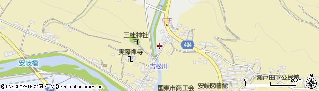 大分県国東市安岐町瀬戸田15周辺の地図