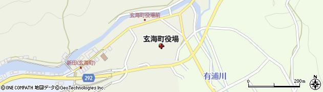 佐賀県東松浦郡玄海町周辺の地図