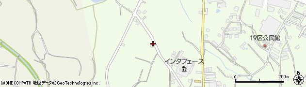 大分県国東市安岐町下原1593周辺の地図