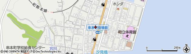 和歌山県串本町(東牟婁郡)周辺の地図
