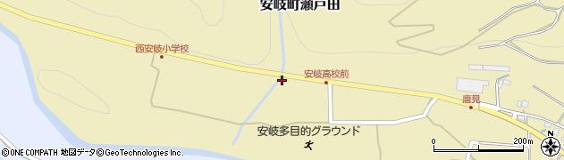 大分県国東市安岐町瀬戸田1297周辺の地図