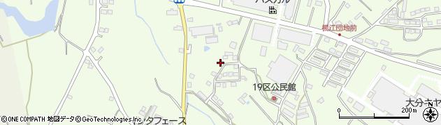 大分県国東市安岐町下原384周辺の地図
