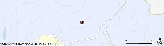 大分県宇佐市熊周辺の地図