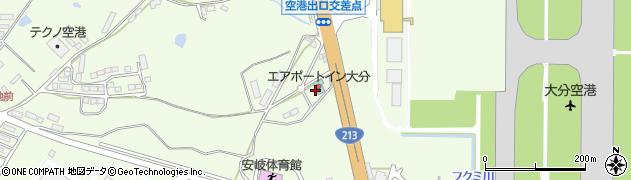 大分県国東市安岐町下原541周辺の地図