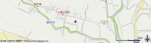 大分県国東市安岐町吉松一ノ瀬周辺の地図
