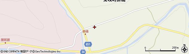 大分県国東市安岐町掛樋939周辺の地図