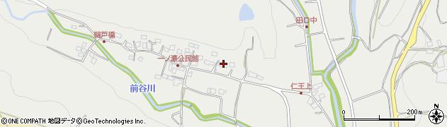 大分県国東市安岐町吉松205周辺の地図