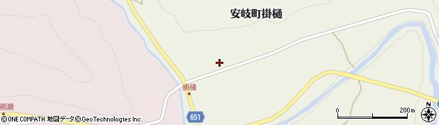 大分県国東市安岐町掛樋940周辺の地図
