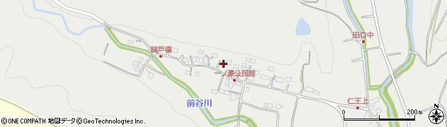 大分県国東市安岐町吉松249周辺の地図