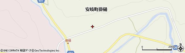 大分県国東市安岐町掛樋803周辺の地図