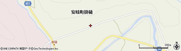 大分県国東市安岐町掛樋828周辺の地図