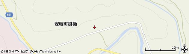大分県国東市安岐町掛樋842周辺の地図