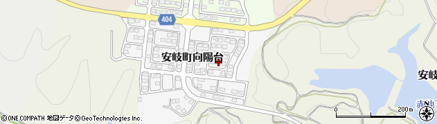 大分県国東市安岐町向陽台6周辺の地図