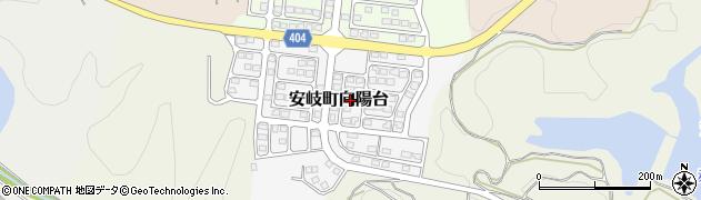 大分県国東市安岐町向陽台7周辺の地図