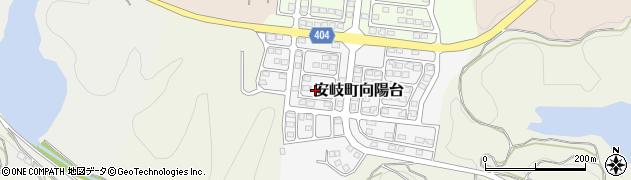大分県国東市安岐町向陽台15周辺の地図