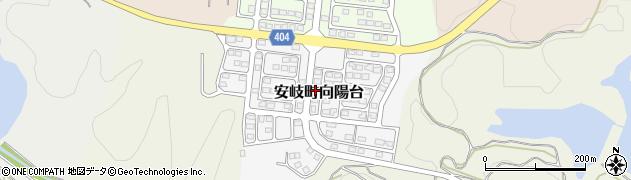大分県国東市安岐町向陽台8周辺の地図