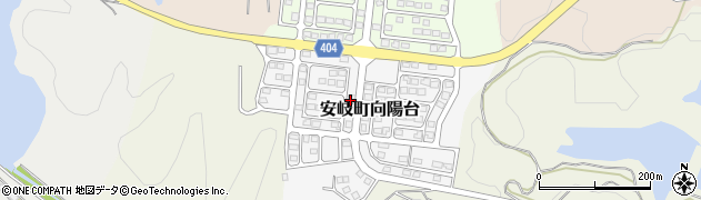 大分県国東市安岐町向陽台11周辺の地図