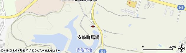 大分県国東市安岐町馬場3-8周辺の地図