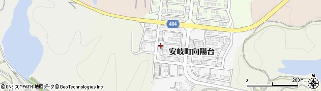 大分県国東市安岐町向陽台17周辺の地図